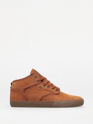 Globe Motley Mid Shoes (hazel/tobacco/fur)