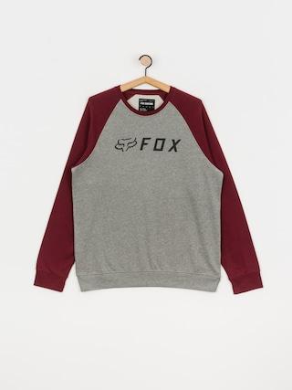 Fox Apex Sweatshirt (gry/rd)
