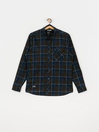 Fox Gamut Stretch Shirt (nvy/gld)