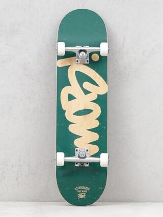 Mob Skateboards Tag Logo Skateboard (green)