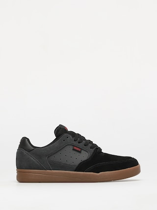 Etnies Veer Shoes (black/dark grey/gum)