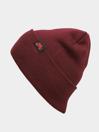 Nike SB Utility Beanie (dark beetroot/chile red)