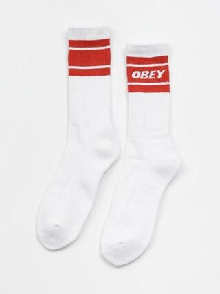 OBEY Cooper II Socks (white/chili)