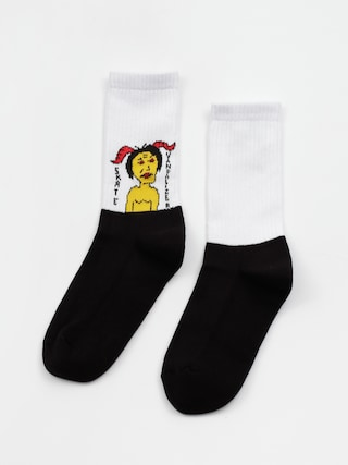 Malita Vandalizer Socks (white)