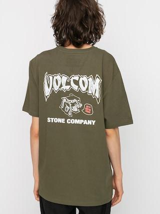 Volcom Kittykat Rlx T-shirt (military)