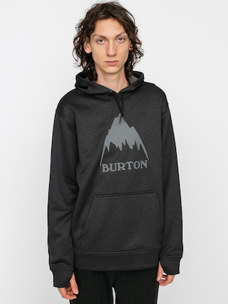 Burton Oak HD Active sweatshirt (true black heather)