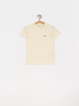 Carhartt WIP Typeface T-shirt Wmn (flour/black)