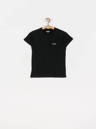 Carhartt WIP Typeface T-shirt Wmn (black/white)