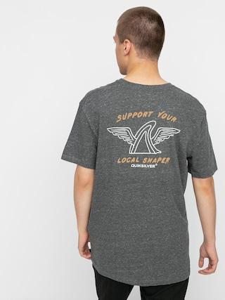 Quiksilver Quik Local Shaper T-shirt (charcoal heather)