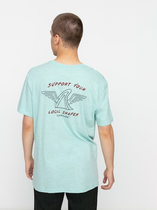 Quiksilver Quik Local Shaper T-shirt (eggshell blue heather)