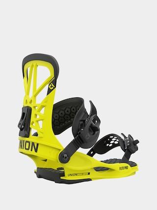 Union Flite Pro Snowboard bindings (hazard yellow)