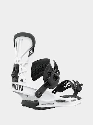 Union Flite Pro Snowboard bindings (white)