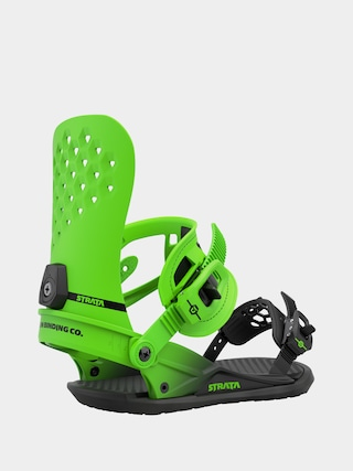 Union Strata Snowboard bindings (acid green)