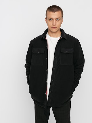 Volcom Bower Polar Fleece Jacket (black)
