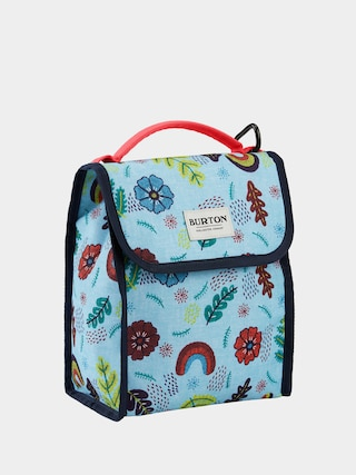 Burton Lunch Sack Bag (embroidered floral print)