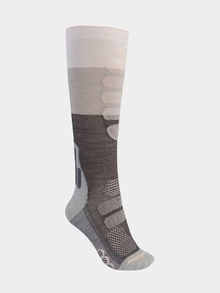 Burton Performance Midweight Socks Wmn (gray heather)