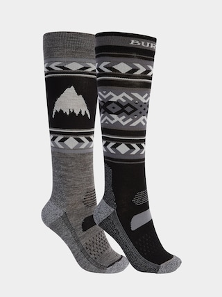 Burton Performance Lightweight 2 Pack Socks Wmn (true black)