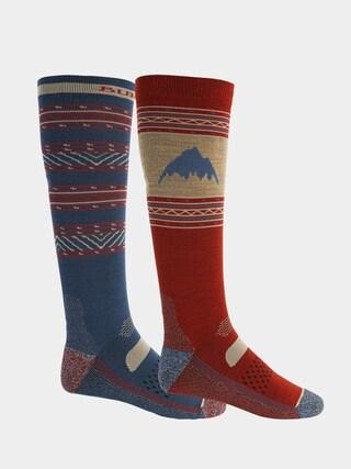 Burton Performance Lightweight 2 Pack Socks (dark slate/tandori)