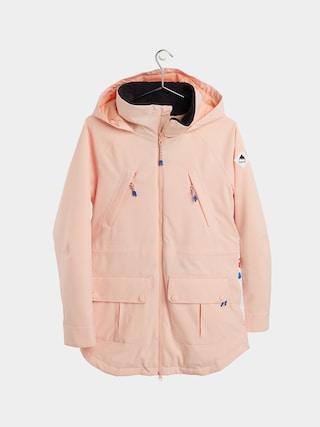 Burton Prowess Snowboard jacket Wmn (peach melba/stout white landscape floral)