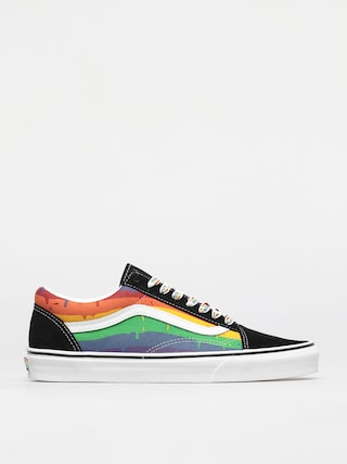 Vans Old Skool Shoes (rainbow drip/blkmlttrwht)