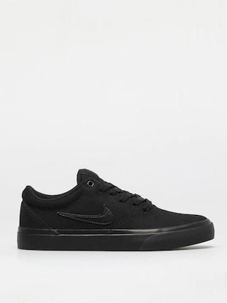 Nike SB Charge Canvas Shoes (black/black-black)
