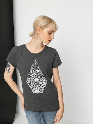 Volcom Radical Daze T-shirt Wmn (charcoal)