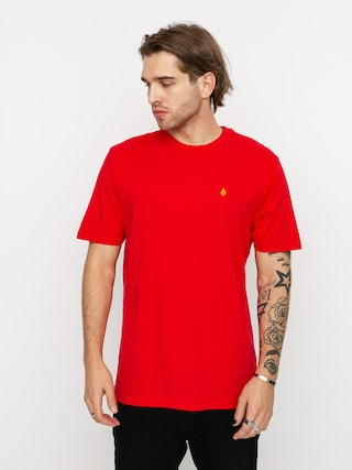 Volcom Stone Blanks Bsc T-shirt (fiery red)