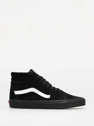 Vans Sk8 Hi Shoes (pig suede/black/black)