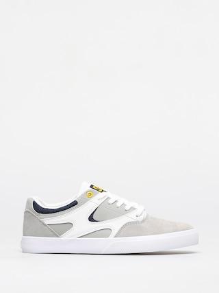 DC Kalis Vulc Shoes (white/grey/grey)