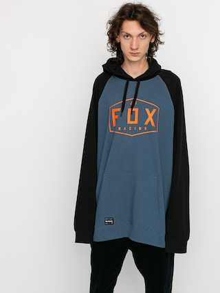 Fox Crest HD Hoodie (blu stl)
