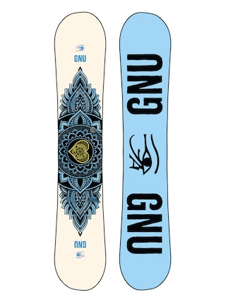 Gnu Pro Choice Snowboard Wmn (blue/black)
