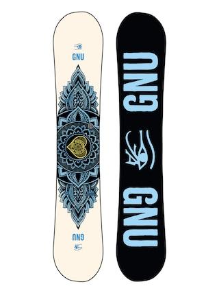Gnu Pro Choice Snowboard Wmn (black/blue)