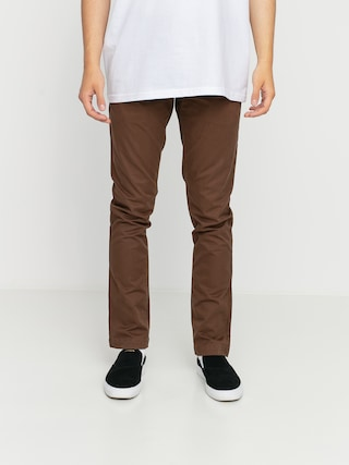 Volcom Frickin Slim Chino Pants (vintage brown)