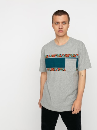 Iriedaily Monte Noe Pocket T-shirt (grey mel)