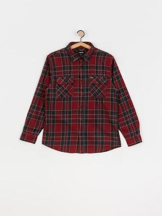 Brixton Bowery Flannel Ls Shirt (burgundy)