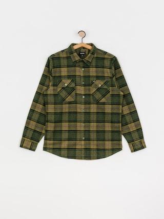 Brixton Bowery Flannel Ls Shirt (evergreen)