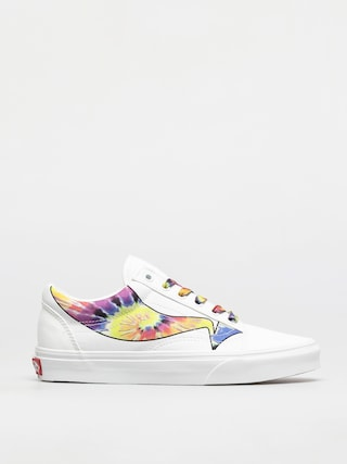 Vans Old Skool Shoes (warp/true white/tie dye)