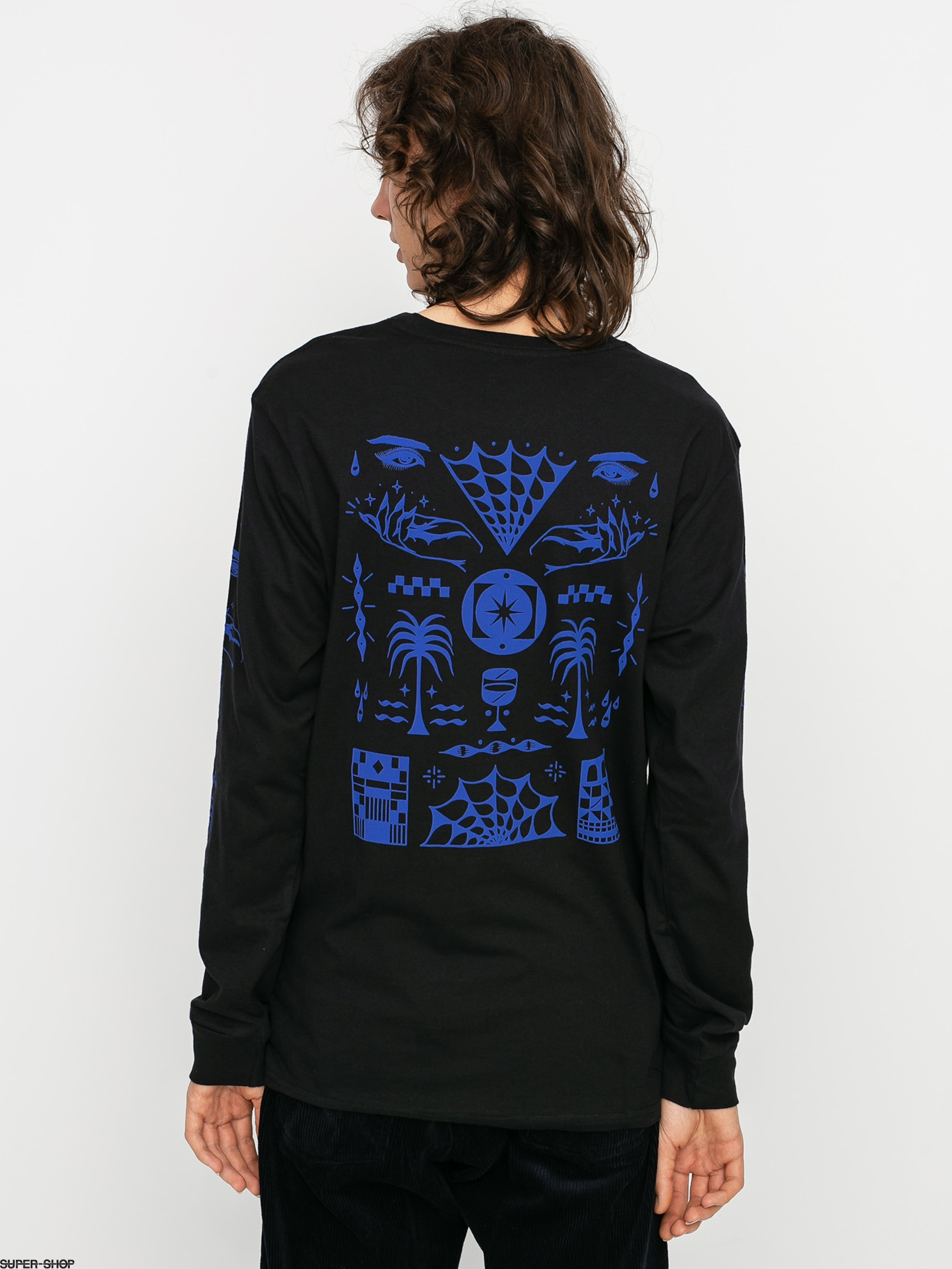 Rvca Vision Flash Longsleeve Black
