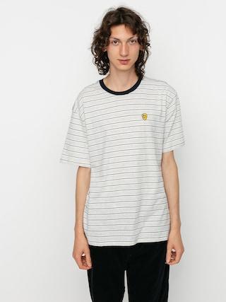 Brixton Hilt Melter T-shirt (off white/ash/washed navy)
