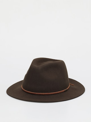 Brixton Wesley Fedora Hat (brown)