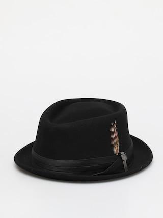 Brixton Stout Pork Pie Hat (black/black)