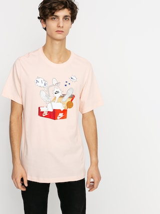 Nike Sportswear Box T-shirt (washed coral)