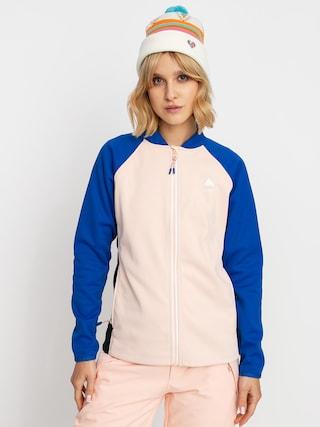 Burton Crown Weatherproof Active sweatshirt Wmn (lapis blue/peach melba/true black)
