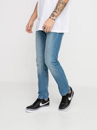 DC Worker Straight Stretch Pants (light indigo bleach)