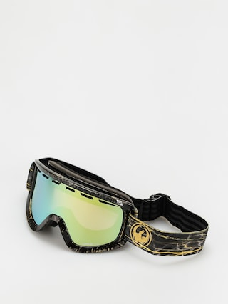 Dragon D1 Otg Goggles (14 karat/ll gold ion/ll amber)