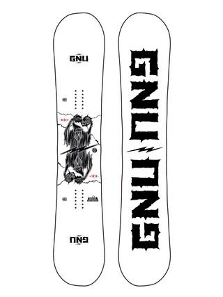 Gnu RC C3 Snowboard (white/black)
