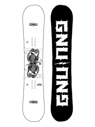 Gnu RC C3 Snowboard (black/white)