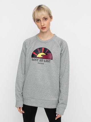 Burton Oak Active sweatshirt Wmn (gray heather)