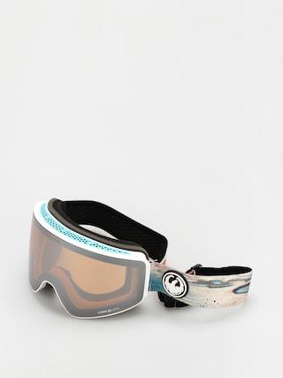 Dragon PXV Goggles (iguchi sig 20/ll silver ion/ll amber)