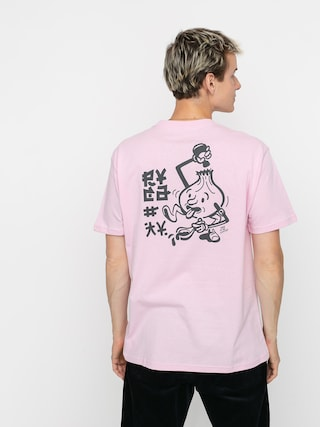 RVCA Send Noodles T-shirt (chalky pink)